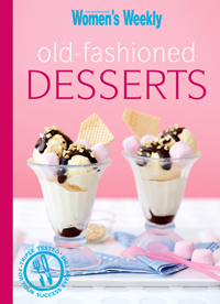 Old Fashioned Australian Desserts